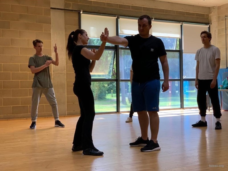 Mini Masterclass: SLAP, BANG, WALLOP An Introduction to Unarmed Stage Combat